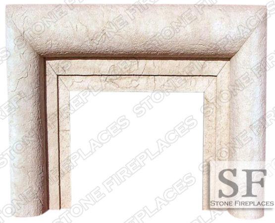 Modern Mantel, Cast Stone Fireplace, Aspen