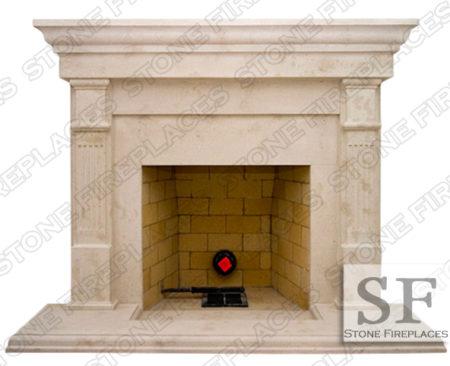Cast Stone Fireplace Facing Mantel