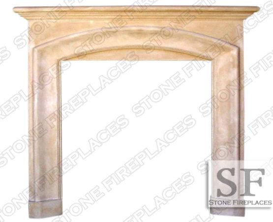 Cast Stone Surround, Fireplace Mantel, Catalina