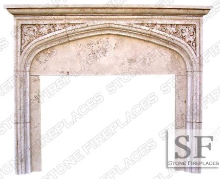 Tudor Fireplace Mantel English