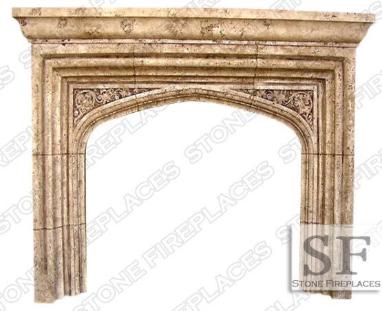 Tudor Fireplace Mantel