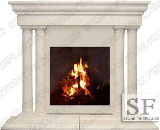 Fireplace Cast Stone Mantel