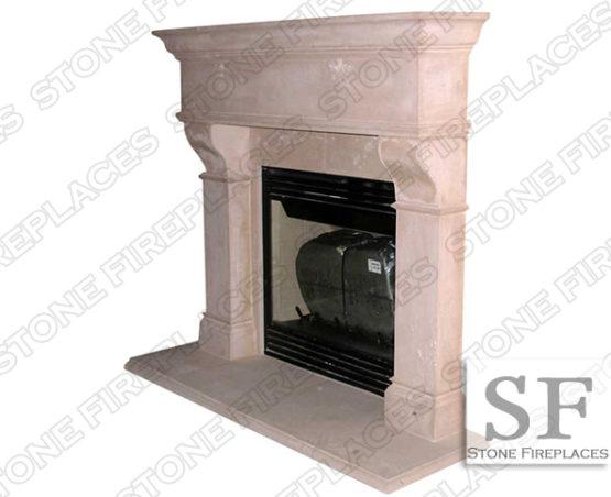 Rochester Cast Stone Fireplace Mantel