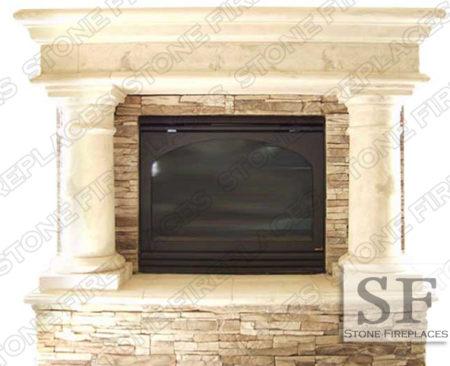 Fireplace Surround Cast Stone