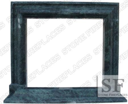 Modern Marble Frame Fireplace Mantel