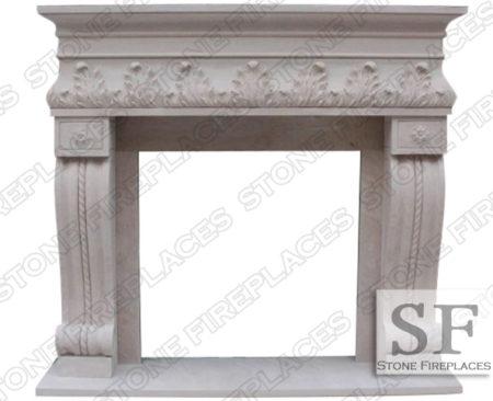 Naples Sandstone Fireplace Surround