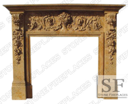 New Jersey Marble Fireplace Mantel