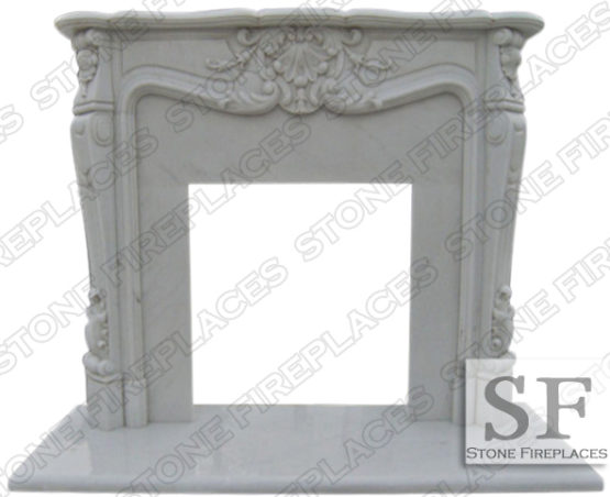 Versailles Louis French Fireplace Mantel
