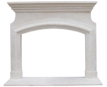 Limestone Fireplace Surrounds